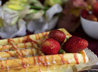 Strawberry Waffles Picture